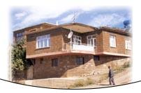 Köylerde evler tek kat olarak istenilen büyüklükte yapılmaktadır